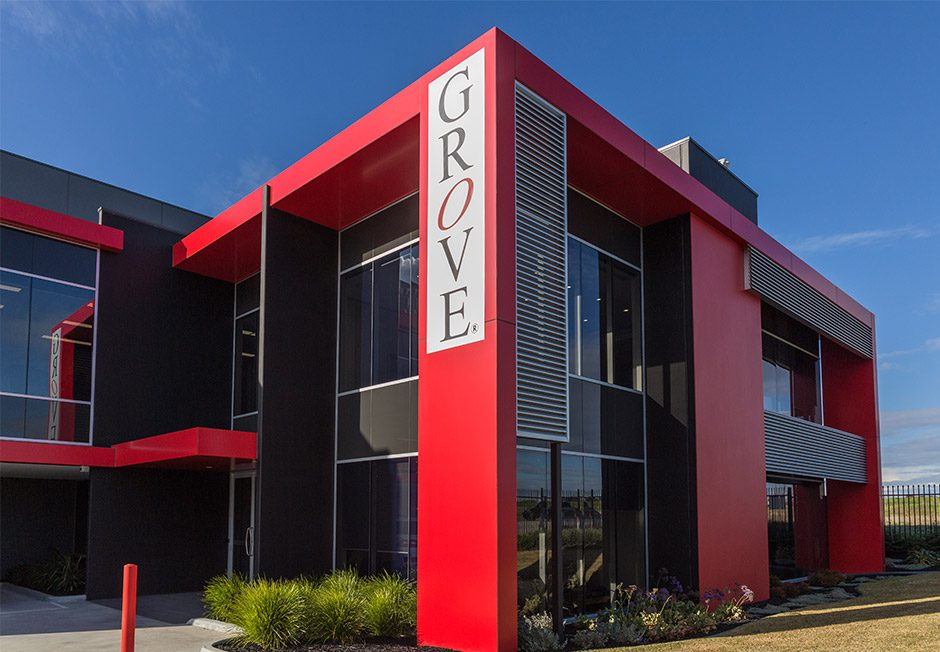 Mega Rise, Grove Headquarters