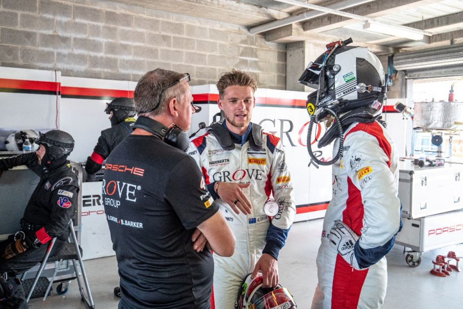 Brenton Grove confirmed for GT World Challenge Asia with EBM