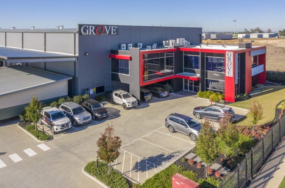 Mega Rise, Grove Headquarters